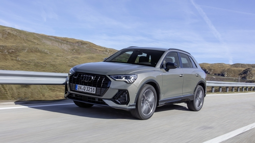 The new Q 3 has several features taken from premium models.