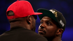Chisora and Whyte square up before their fight
