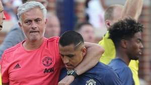 Jose Mourinho and Alexis Sanchez
