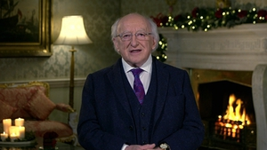 President Michael D Higgins paid tribute to people who worked 'tirelessly to support' those in need