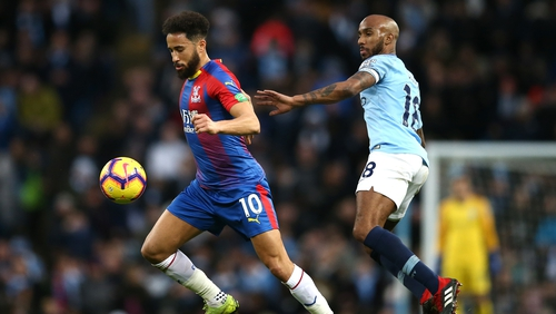 Palace survive nervy finish to stun Man City