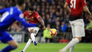 Marcus Rashford put Manchester United in front