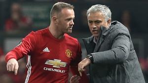Rooney left United after one season under Mourinho