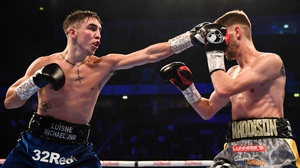Conlan (L) dominated Cunningham throughout