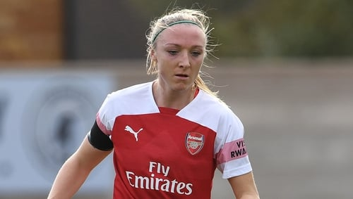 Louise Quinn first came to Arsenal in 2017