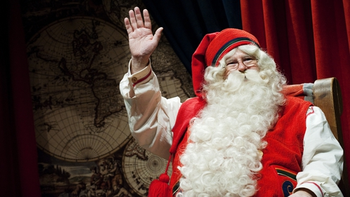 Santa Claus uses science to travel around the world