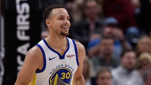 Steph Curry is good at basketball