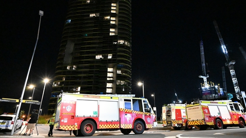 """Police """"identified there was a crack in the building"""", he added, alerting emergency services"""
