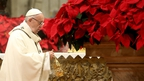 Pope criticises consumerism in Christmas Eve homily