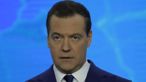 Dmitri Medvedev issued a decree that 245 individuals and seven companies were sanctioned by Moscow