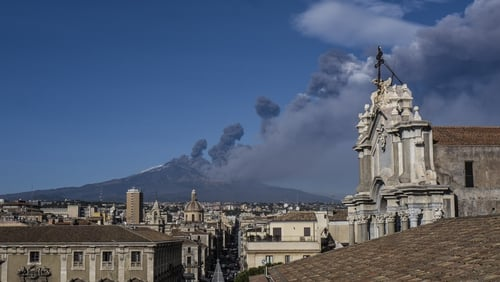 The Christmas Eve eruption has been followed by a series of tremors