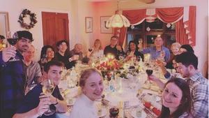A Jonas/Turner/Chopra Christmas. Pic: Instagram/SophieT
