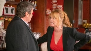 """Richard Hawley as Johnny Connor and Sally Ann Matthews as Jenny Bradley - """"Are you saving something that's honest or are you saving some unresolved stuff to be dealt with?"""""""