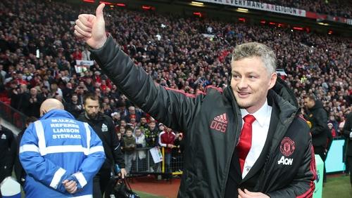Ole Gunnar Solskjaer has lifted a cloud around Old Trafford