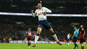 Heung-Min Son hit a brace as Tottenham beat Bournemouth 5-0