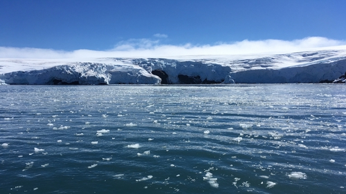 From 1979 to 1990 Antarctica shed an average of 40 billion tonnes of ice mass annually