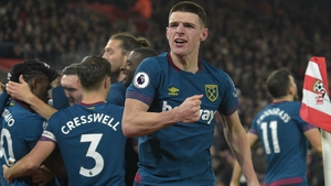 Declan Rice was superb for West Ham in their win against Southampton