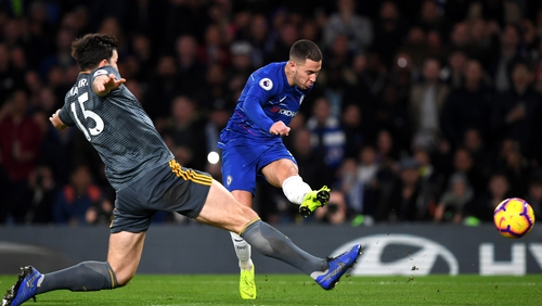 Eden Hazard is happy to play anywhere he's asked at Chelsea