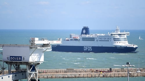 Danish operator DFDS is one of the companies to sign a contract