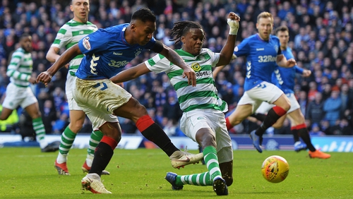Rangers ended their Old Firm derby drought