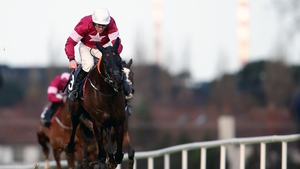 Delta Work ridden by Davy Russell comes home to win