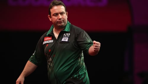 Brendan Dolan was beaten in the final by Nathan Aspinall