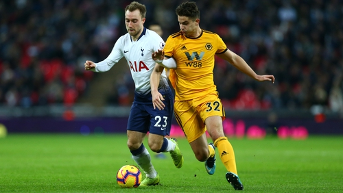 Spurs suffered a surprise defeat to Wolves, derailing their title hopes