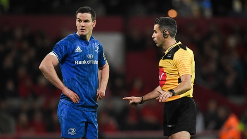 Johnny Sexton is back for Leinster