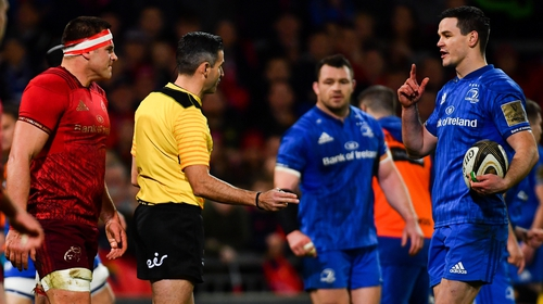 Munster moved to second in Conference A of the Guinness Pro 14