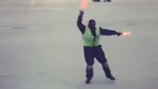 Dancing on air: Toronto ramp agent