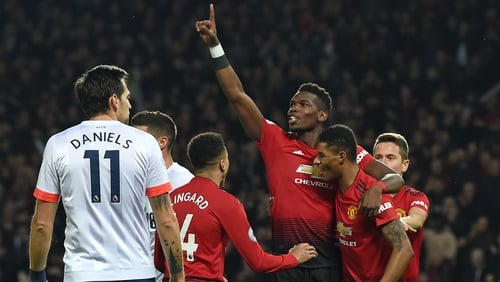 Paul Pogba was to the fore in the 4-1 victory at Old Trafford