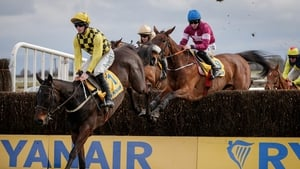 David Mullins on board Al Boum Photo on his way to winning the 2018 Ryanair Gold Cup