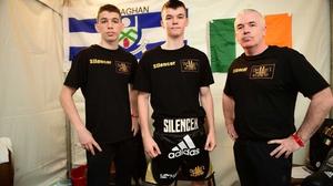 Stevie, Aaron and Fergal McKenna