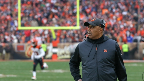 Bengals fire coach Marvin Lewis after 6-10 season