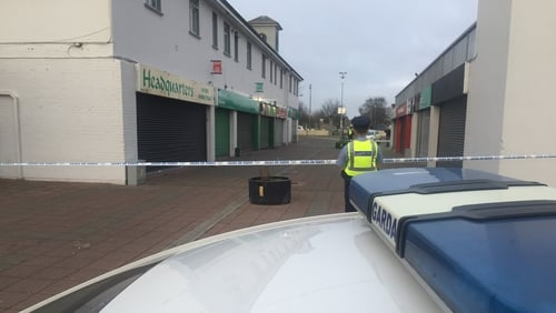 The incident happened atMizzoni's Pizza at the Edenmore Shopping Centre in Coolock just after midnight