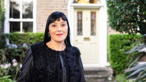 Jean Byrne pictured at home in 2019