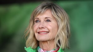 Olivia Newton-John (pictured in Melbourne in September 2018) - Speculation about her condition has been dismissed by her representatives
