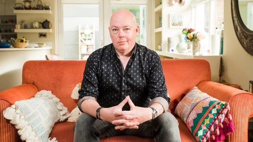Writer John Boyne was crowned winner of Celebrity Home of the Year!