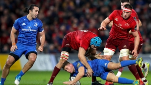 Jordan Larmour and Leinster suffered their third defeat of the season