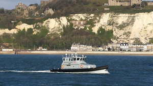 The Royal Navy has been asked to help the UK Border Force in the English Channel