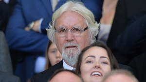 Billy Connolly pictured at a match last May