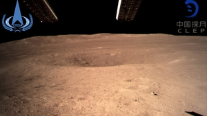 The Chang'e-4 probe has sent back images of the far side of the moon (Pic: China National Space Administration)