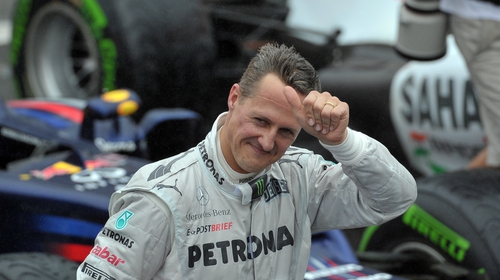 F1 pays tribute to stricken Schumacher on his 50th birthday