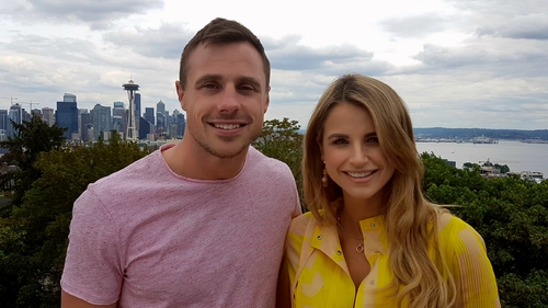 Tommy Bowe and Vogue Williams are back with a new series of 'Getaways'