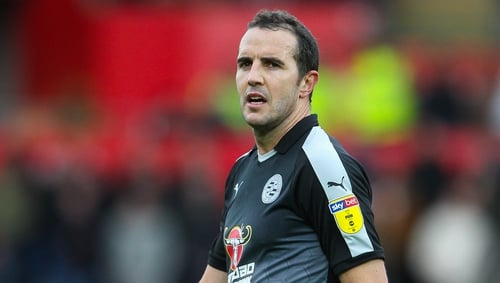 John O'Shea has joined up with the Reading backroom staff