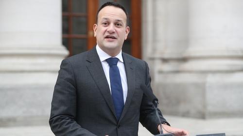 Taoiseach Leo Varadkar said there are no plans to recall the Dáil next week