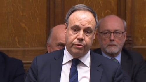 Nigel Dodds said the party would have further discussions with Theresa May