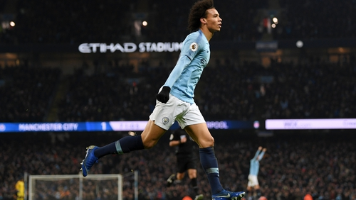 Leroy Sane will be out of action for up to seven months