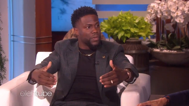 Ellen Forgives Kevin Hart As He Considers Hosting the Oscars