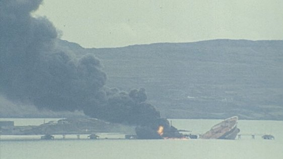Whiddy Island disaster, Bantry Bay, Cork (1979)